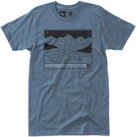Hippy Tree Bluffside T-shirt Heren, steel blue